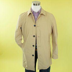 Banana Republic Factory Mens Khaki Mac Jacket Coat